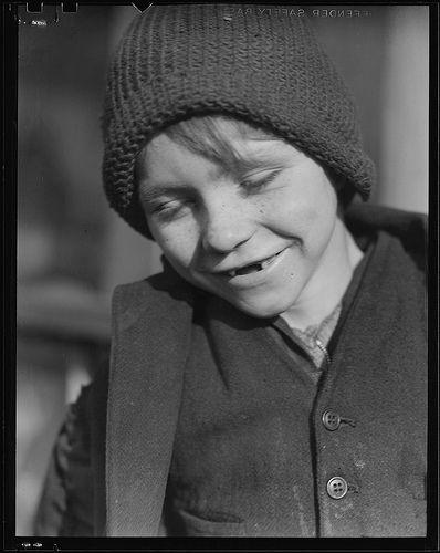 Scott's Run, West Virginia. Miner's child - Father unemployable, March 1937
