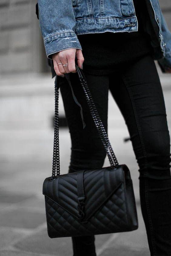 71ad1bb395 Designer bag / fashion week street style #desginerbag #fashionweek #luxury  #streetstyle #