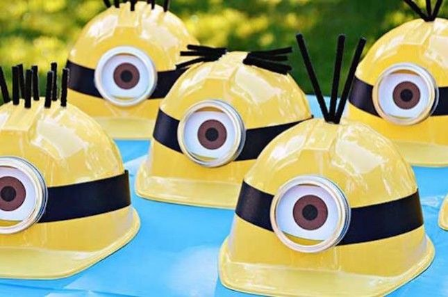 Throw a minion party for your little one.