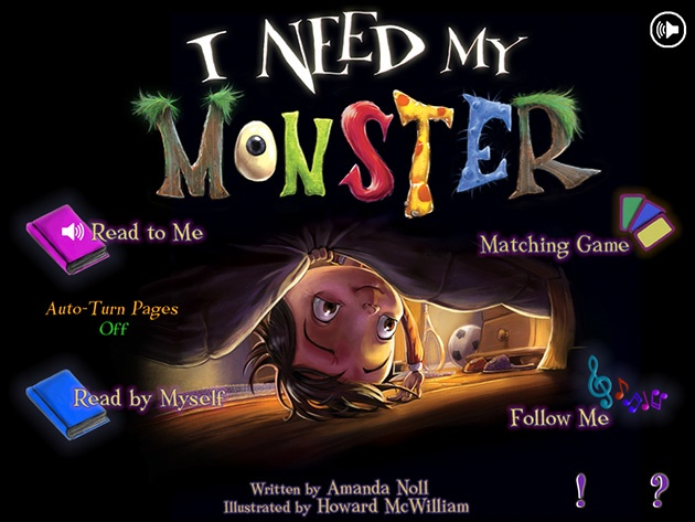 I Need My Monster review  http://www.sweetkidsapps.com/i-need-my-monster-review/