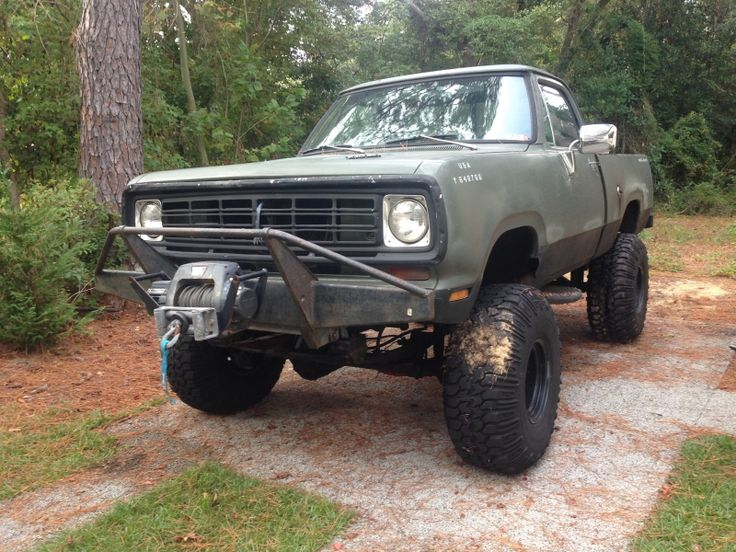 Dodge 4x4 Trucks >> Used 1978 Dodge W-150 4X4 Trail Monster   CLASSIFIED RIDE   Pinterest   4x4, Dodge trucks and Mopar