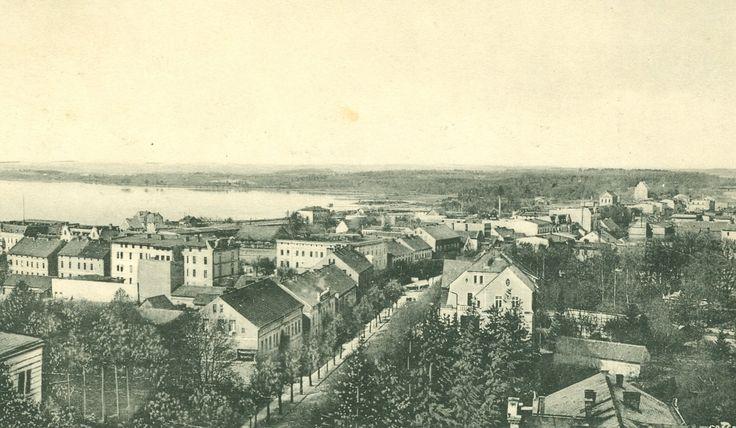 Eine Ansicht von Lötzen in Ostpreussen Karte von 1915, Samml. Hameister https://www.facebook.com/231510676882650/photos/a.236820109685040.64897.231510676882650/1075809762452733/?type=1