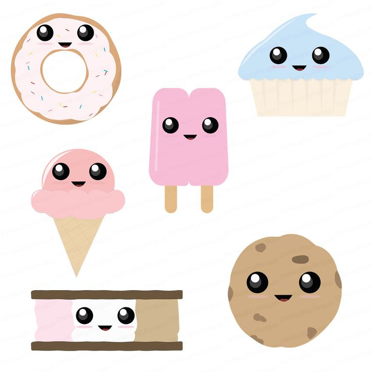 Dessert Clip Art | Dessert Junk Food Sweeties Clip Art ...