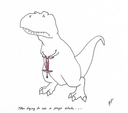 42 Funny Examples Of T-Rex Trying [Gallery]   The Lion's Den University