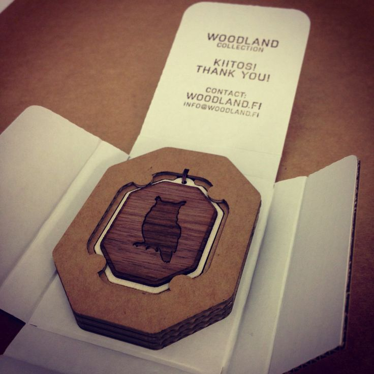 Woodland Jewelry - Jewelry packaging + postage/resale wrapping with a hand stamped Thank you message and contact information.