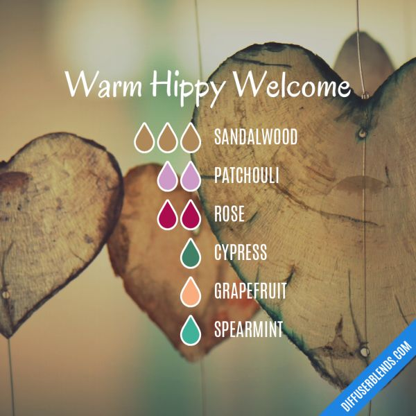 Warm Hippy Welcome - Essential Oil Diffuser Blend