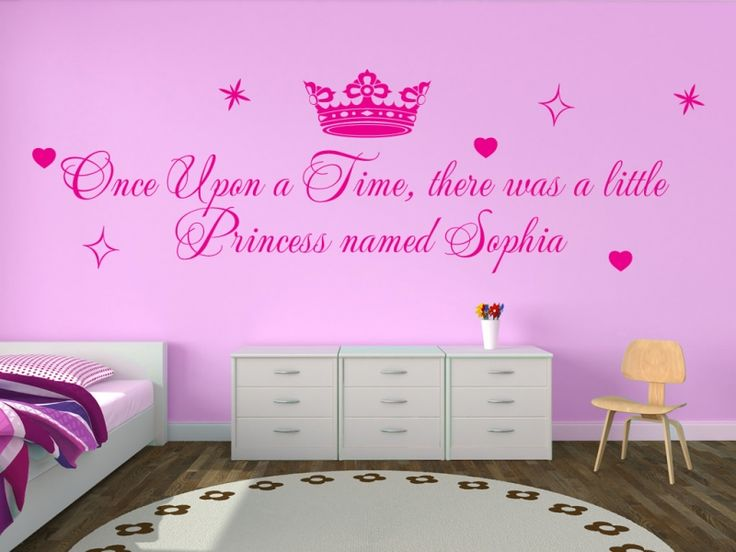 "Once Upon a Time,There was a Princess named Sophia Add your name in the ""Personalise"" field     Available in over 20 colours and all personalisation is free!!"