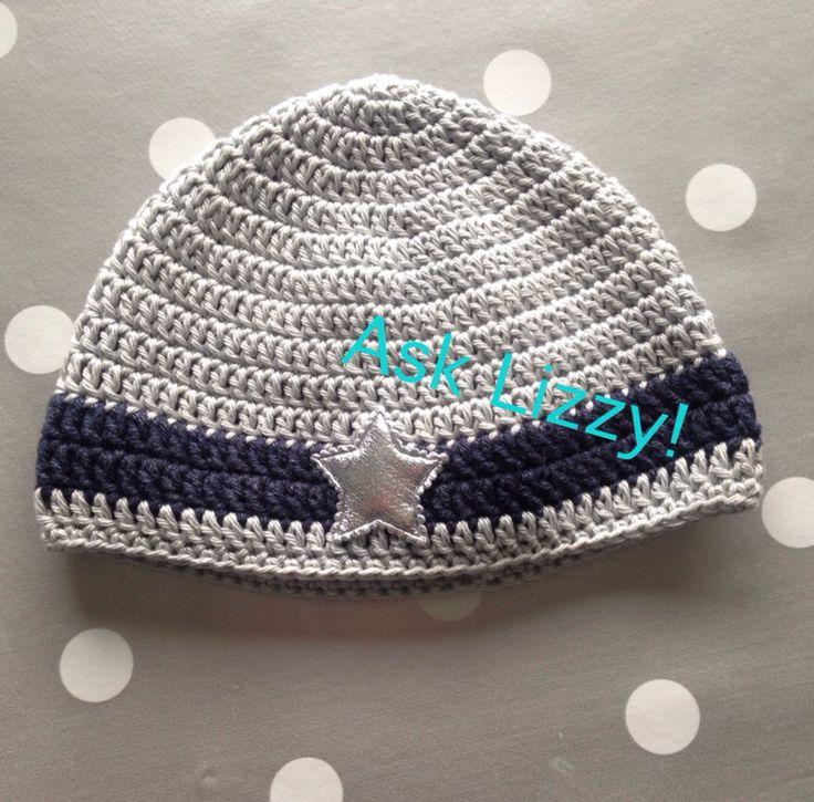 Mutsje voor jongen hat for babyboy @AskLizzy!