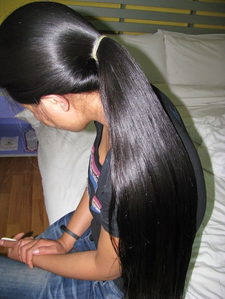 Foto Model Rambut Panjang Indonesia Beautiful Long Hair