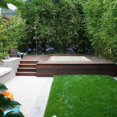 Contemporary Home Swim Spa Design Ideas, Pictures, Remodel, and Decor