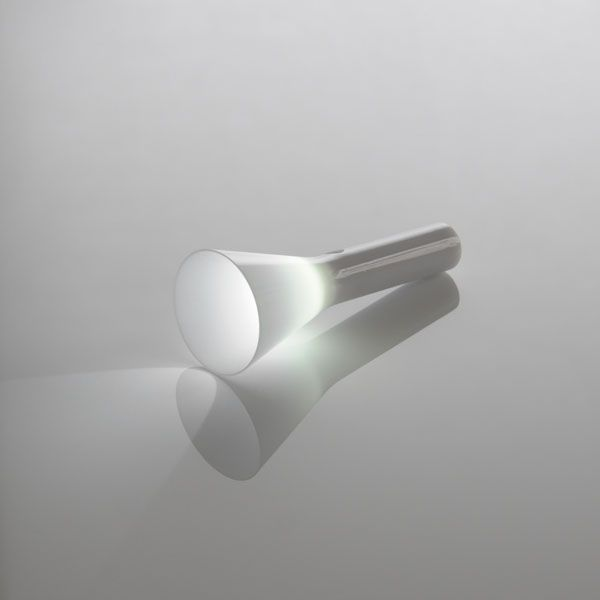 Mini LED Torch light in grey & white . minimal design | lighting . Beleuchtung . luminaires | Design: Yohei Kuwano |