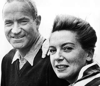Peter Viertel & Deborah Kerr