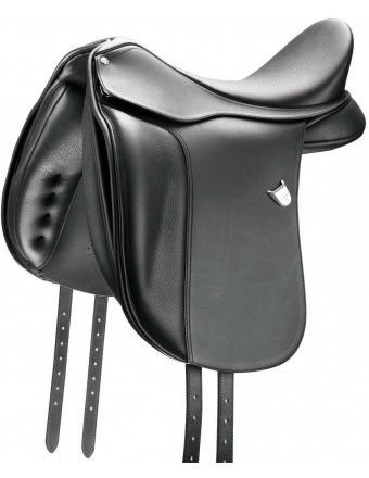 BATES DRESSAGE SADDLE WITH FORWARD BARS WITH CAIR