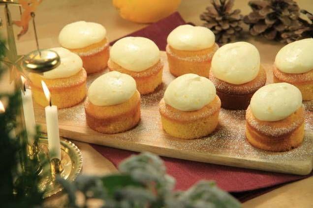 Recept. Små muffins med härlig smak! Så goda och enkla att göra! Perfekt till myset.
