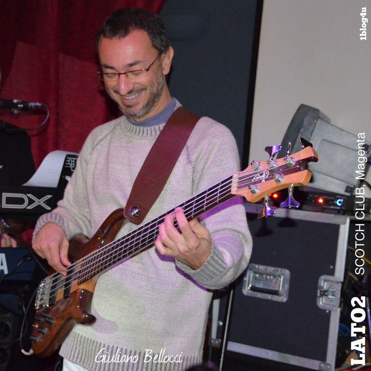 #Lato2 cover #rock at #ScotchClub #Magenta Milano Thank you so much to #Gabriella #Ruggieri (1blog4u) for the beautiful pics  #Alberto #Adami #bass #singer (guest) #Marco #Massicut #guitar  #Maurizio #Bonucci #keyboards  #Danilo #Carelli #drummer #Giuliano #Bellocci #bass #1blog4u