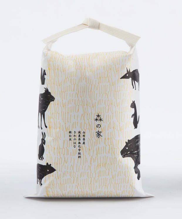 10 Beautifully Minimal Examples of Japanese Rice Packaging - UltraLinx