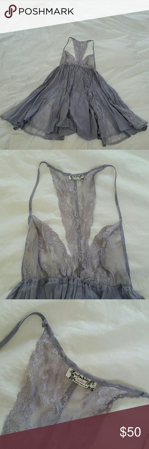 Intimately Free People Lavender Lace Nighty Size SMALL/PETITE. This beautiful light purple nighty is very breezy and lacy. It is in pristine condition, NWOT. Tags were taken off in excitement when first given to me, but the nighty never fit me very well so I never got to wear it. Absolutely no marks or issues. Free People Intimates & Sleepwear