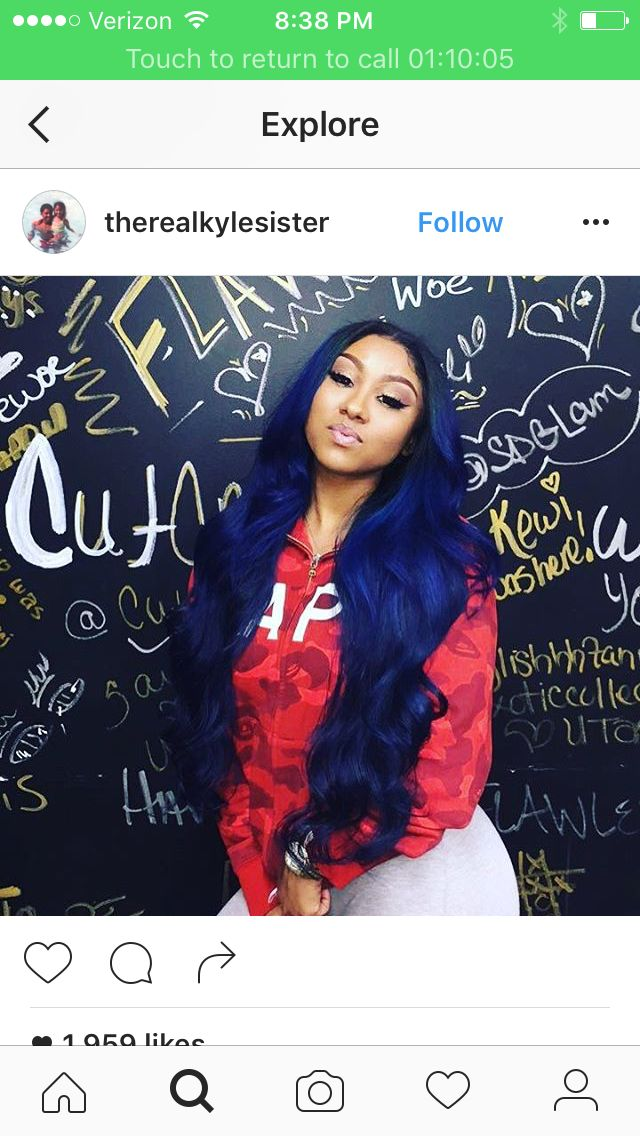 Best 25 blue weave hair ideas on pinterest blue hair extensions women are switching in droves to natural hair products they want soft manageable hair pmusecretfo Gallery