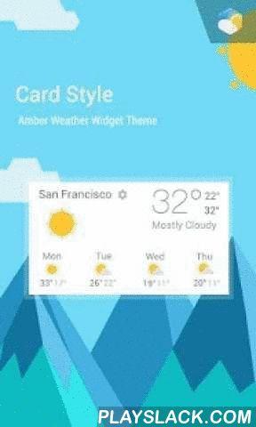 Lollipop Card UI Style Widget  Android App - playslack.com ,  Lollipop Card UI Style Widget is een volledig uitgeruste applicatie voor aanpasbare digitale klok en weerbericht. De applicatie beschikt over het volgende: - 3 widget groottes, 1x1, 4x1 en 4x2- Vele skins die je voor elke widget kan kiezen- Verschillende weericoon-skins - Verschillende fonts voor de tijd - Automatische locatie (van mobiele telefoon/wifi of GPS) of handmatig (gespecificeerd door de gebruiker) - Wereldweer en -tijd…