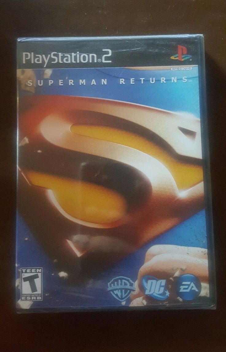 U.S.BIDDERS ONLY You are bidding on a new game call Superman Returns for the PS2 system.Adult owned and smoke free home. SHIPPING Item will be ship wi... #sony #playstation #game #video #returns #superman