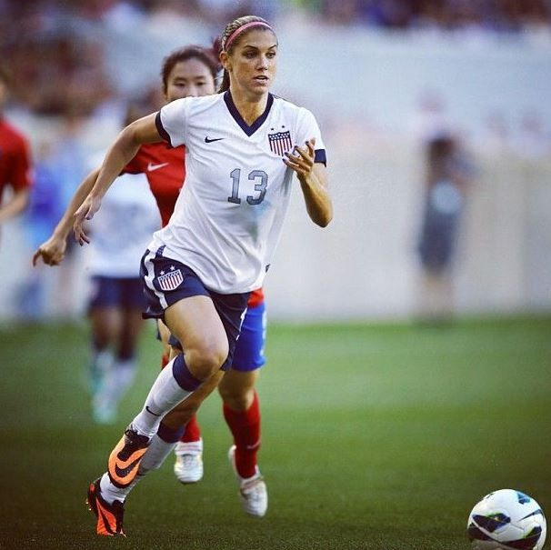 Alex Morgan  Top 10 Best Female Soccer Players of all time  http://www.sportyghost.com/top-10-best-female-soccer-players-all-time/