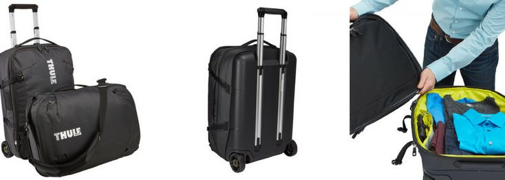 "Thule Subterra Luggage 22"" Review: Want the option for a checked bag, a carry-on, and a small personal item but don't want to buy three separate suitcases?"