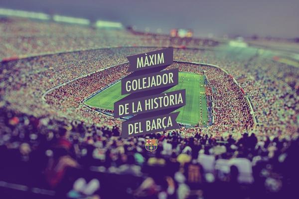 Messi - Màxim Golejador de la História del Barça by Federico Cerdà, via Behance