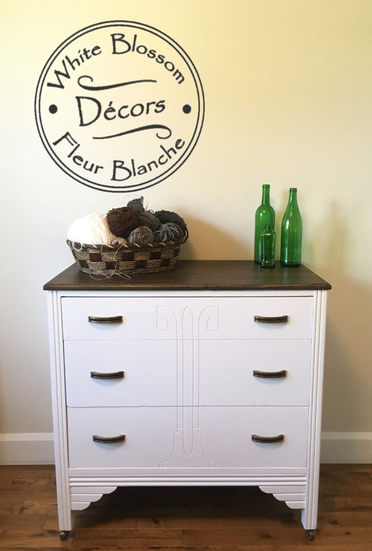 Antique Dresser painted in Fusion Mineral Paint.  Check us out...