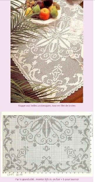 Page 1 of 3 * Filet Crochet Square (Charted pattern only)