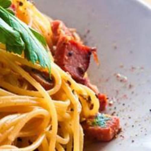 Low Fat Pasta Carbonara 42