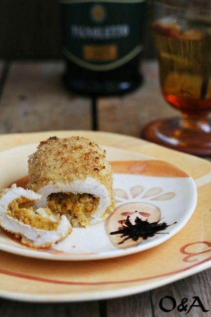 Ricetta involtini di pollo con zucca in agrodolce