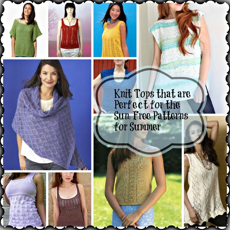 91 Best Easy Knitting Projects For Summer Images On Pinterest Free