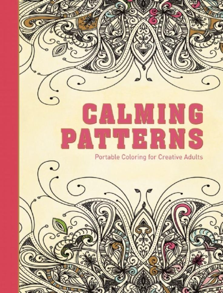 Calming Patterns Portable Coloring For Creative Adults