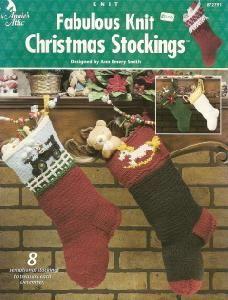 Annie's Attic 872791 Knit Christmas Stockings