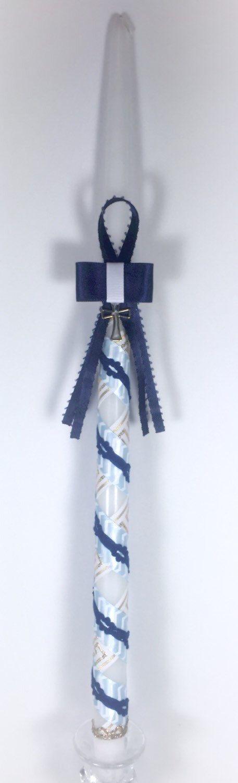 Greek Key - Greek Easter Candle (Lambatha) by EllinikiStoli on Etsy https://www.etsy.com/listing/183533483/greek-key-greek-easter-candle-lambatha