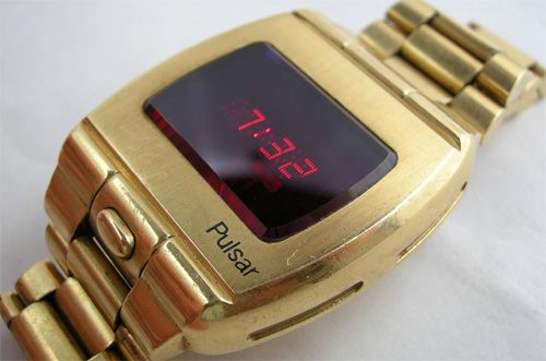 Vintage 1972 Pulsar P1 Prototype LED Watch - first digital display watch
