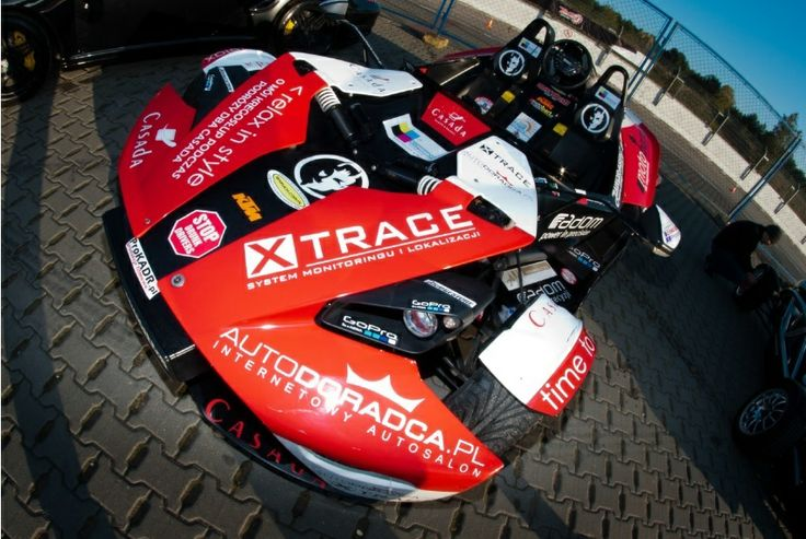 KTM X-Bow: bolidy w akcji