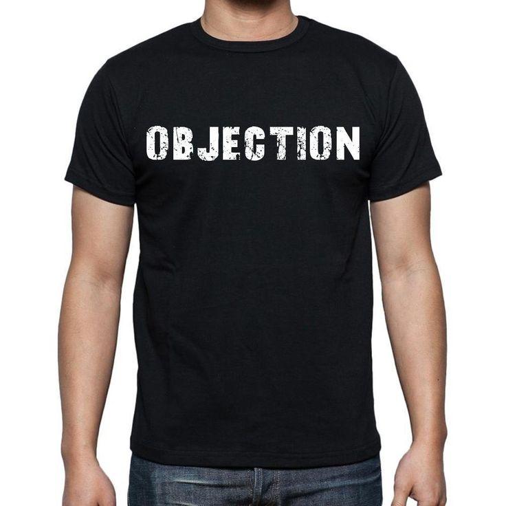 objection Men's Short Sleeve Rounded Neck T-shirt