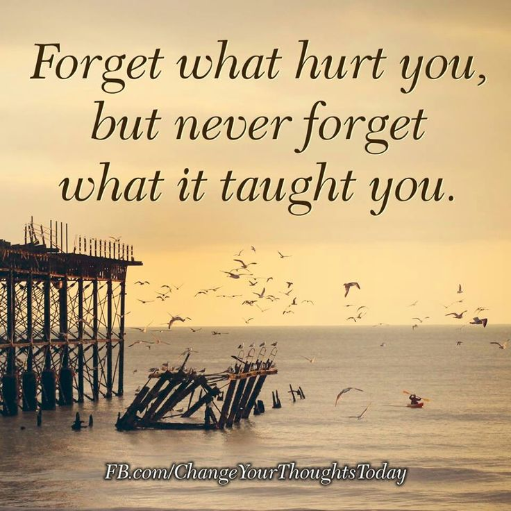 Never Forget What Hurt You Quotes