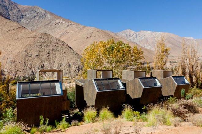 Elqui Domoseco-resort in Chile by Santiago-based architect Rodrigo Duque Motta of RDM Arquitectura