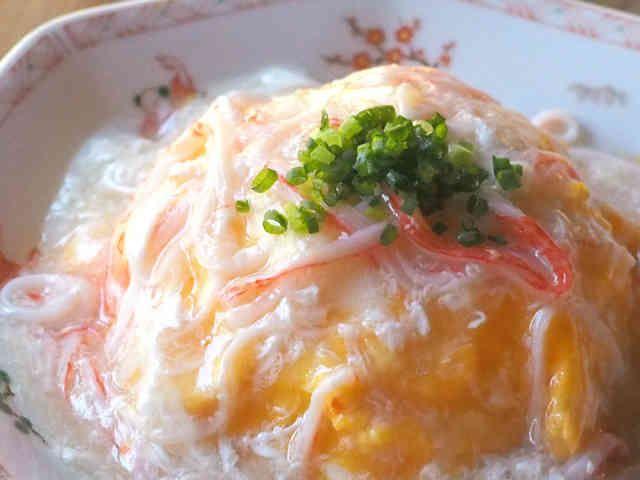 5分で♡ふわふわ塩餡の天津飯✿の画像