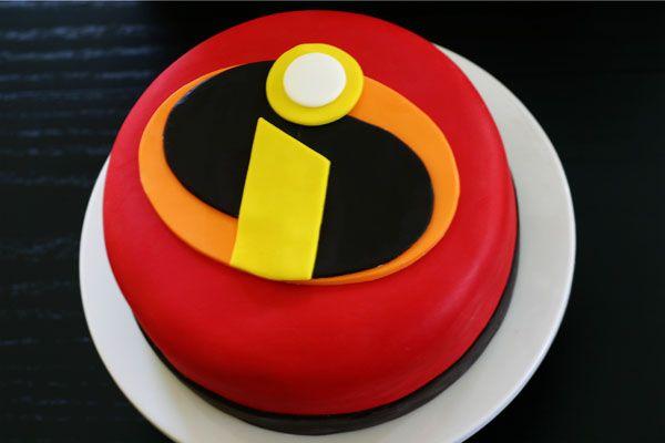 """incredibles"" cake"