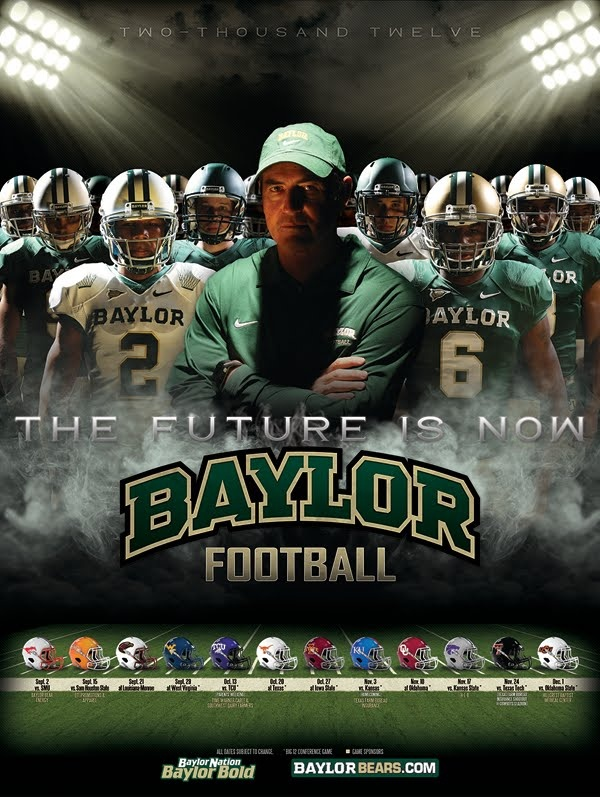 baylor sport poster Google Search Sports graphic
