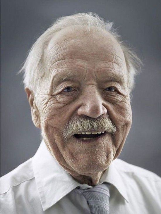 """""""Happy at Hundred""""(""""Jahrhundertmensch"""") by Karsten Thormaehlen. A beautiful collection of portraits from elderly men and women know as """"centenarian"""" and have reached the age of 100."""