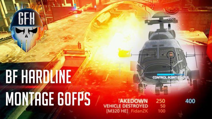 "BF Hardline Montage ""ActionRator"" 60Fps"