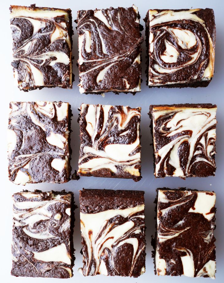 The Ultimate Cream Cheese Brownie -- from scratch, but still easy. Yes!