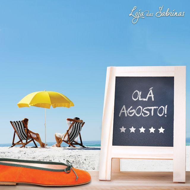 Entre com o pé direito no mês de agosto e na companhia das nossas Sabrinas Ágata.