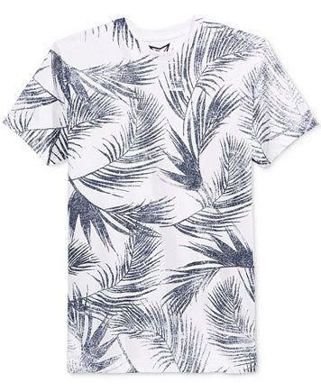 Univibe Men's Leaf Graphic-Print T-Shirt    macys.com