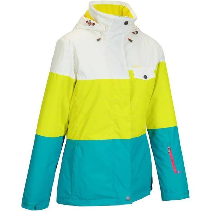 SKI SNOWBOARD LUGE Vêtements - VESTE SKI FEMME FREE 300 WED'ZE - Les hauts