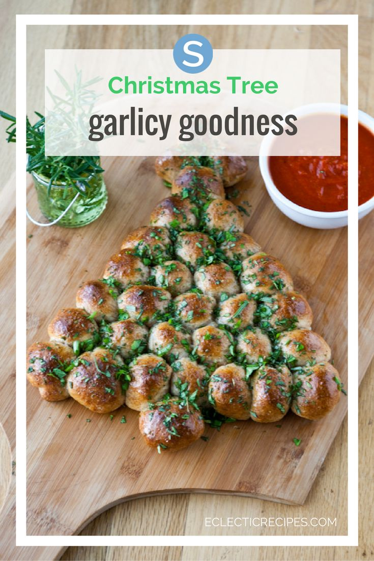 Get festive with your food this Holiday and Christmas with a fun and easy to make Garlic Bread Christmas Tree! Get the recipe instructions here: http://simplemost.com/this-pizza-ball-christmas-tree-is-cheesy-garlicky-goodness?utm_campaign=social-account&utm_source=pinterest&utm_medium=organic&utm_content=pin-description